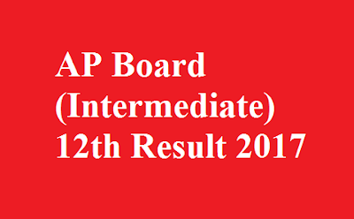 AP Board 12th Intermediate Result 2017