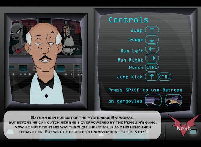 """Starodawne gry komputerowe z lat 90 z darmo """"Batman"""""""