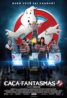 """Poster do filme """"Caça-fantasmas"""""""