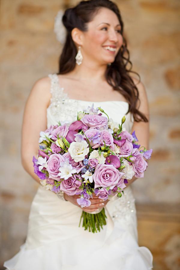 Bride+bridal+vineyard+winery+wine+purple+violet+Lavender+centerpieces+roses+dried+rustic+outdoor+spring+wedding+summer+wedding+fall+wedding+california+napa+valley+sonoma+white+floral+Mirelle+Carmichael+Photography+2 - Lavender Sprigs