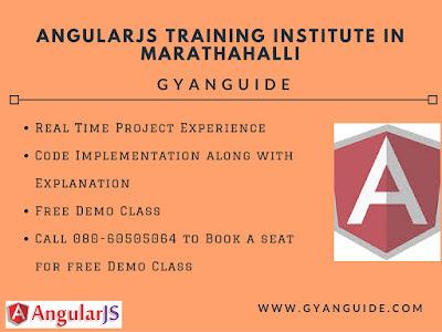 AngularJS Training Institute In Marathahalli