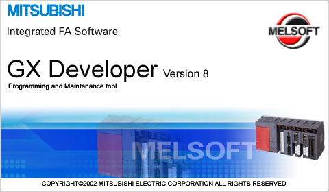 download plc mitsubishi gx developer
