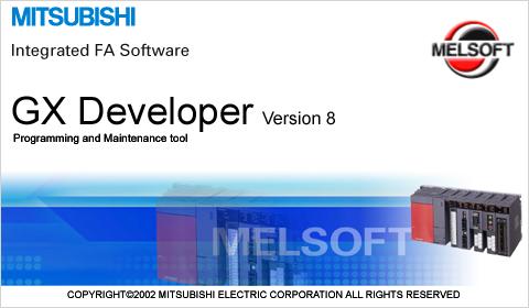 mitsubishi melsoft gx developer