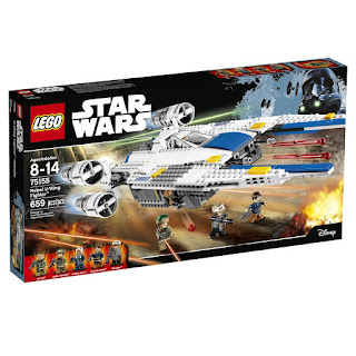 Rogue One's Rebel U-Wing Fighter Lego Set