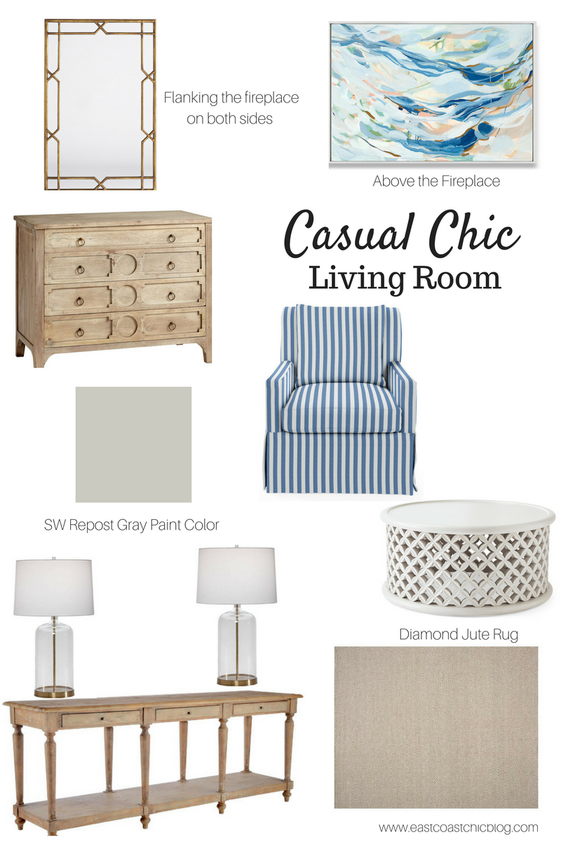 Thoughts For Thursday Casual Chic Living Room Design East Coast Chic