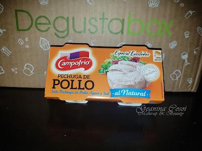 Pechuga de pollo en lata Campofrío Caja Degustabox - Diciembre '16