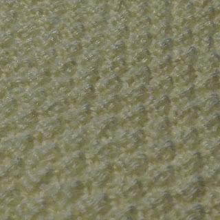 Moss stitch Closeup