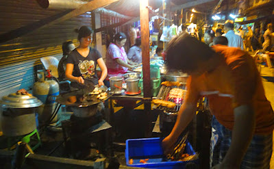 Yangon street food is not very safe to eat