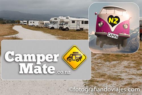 app para caravana Nueva Zelanda