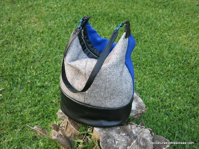 como coser un bolso