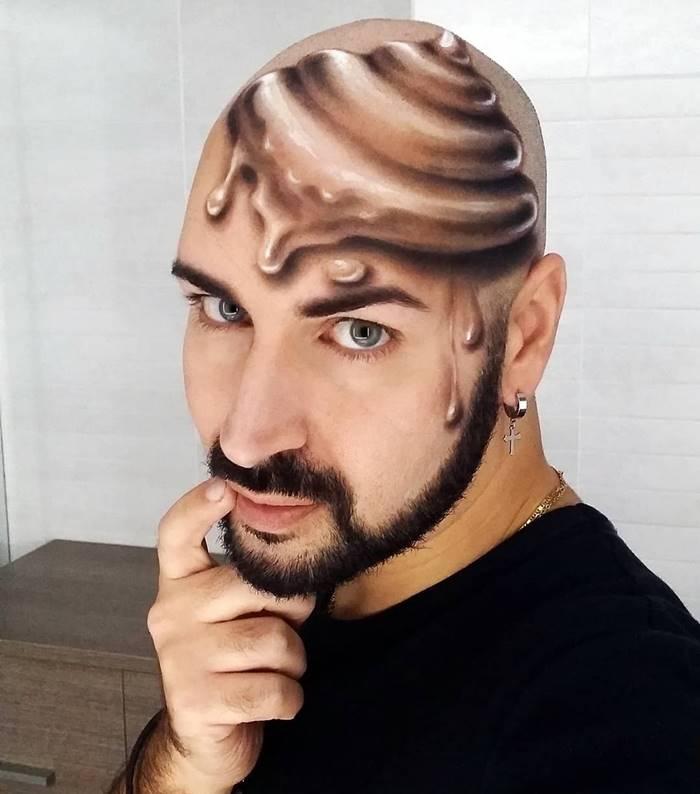 Luca Luce 3d Face Makeup Artist
