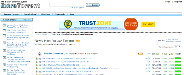 free torrent sites for movies download
