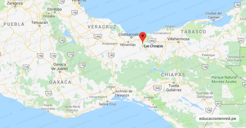 Temblor en México de Magnitud 4.2 (Hoy Jueves 21 Noviembre 2019) Sismo - Epicentro - Las Choapas - Veracruz de Ignacio de la Llave - VER. - SSN - www.ssn.unam.mx