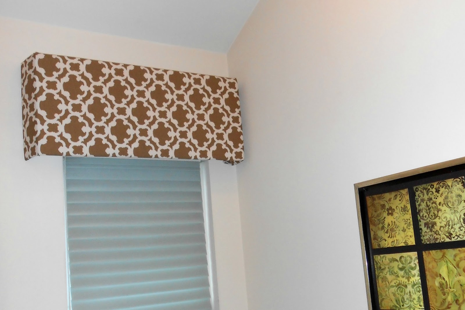 DIY Foam Board Cornice