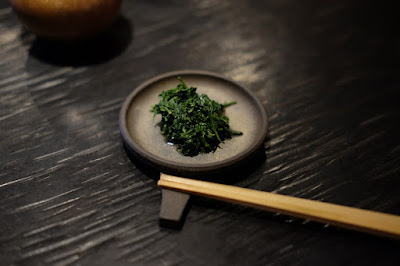 東京の日本茶専門店 櫻井焙茶研究所 ポン酢で味付けした茶葉
