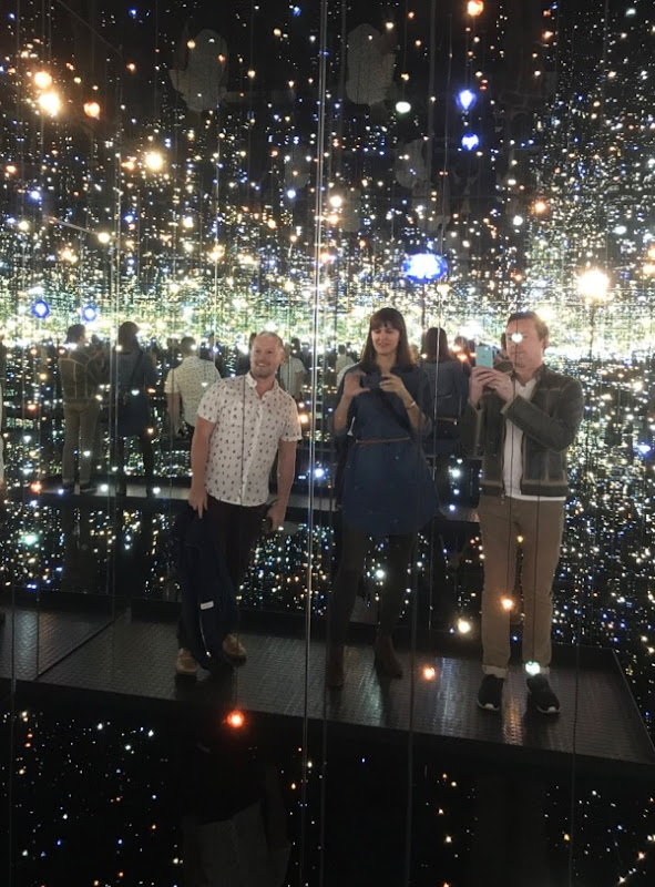 Yayoi Kusama Infinity Mirrors The Broad