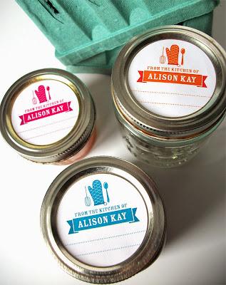 custom kitchen labels