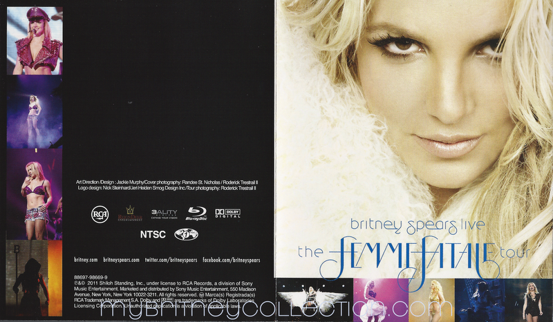 My Britney Collection Femme Fatale Tour Blu Ray