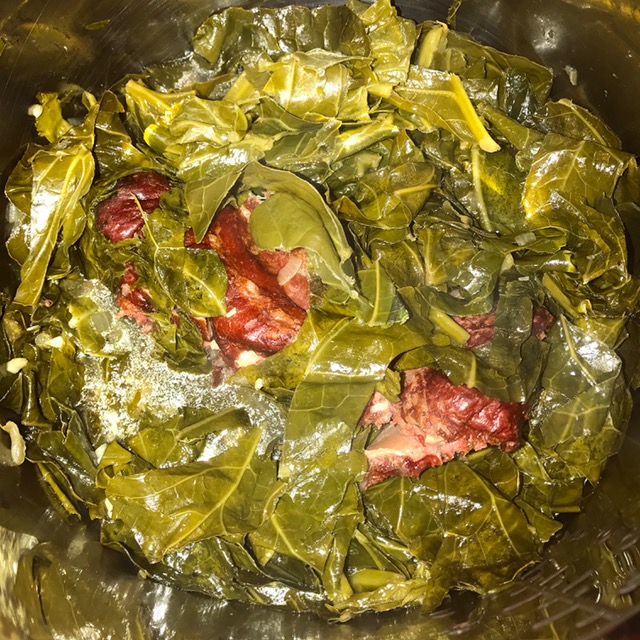 how to cook collards on the stove