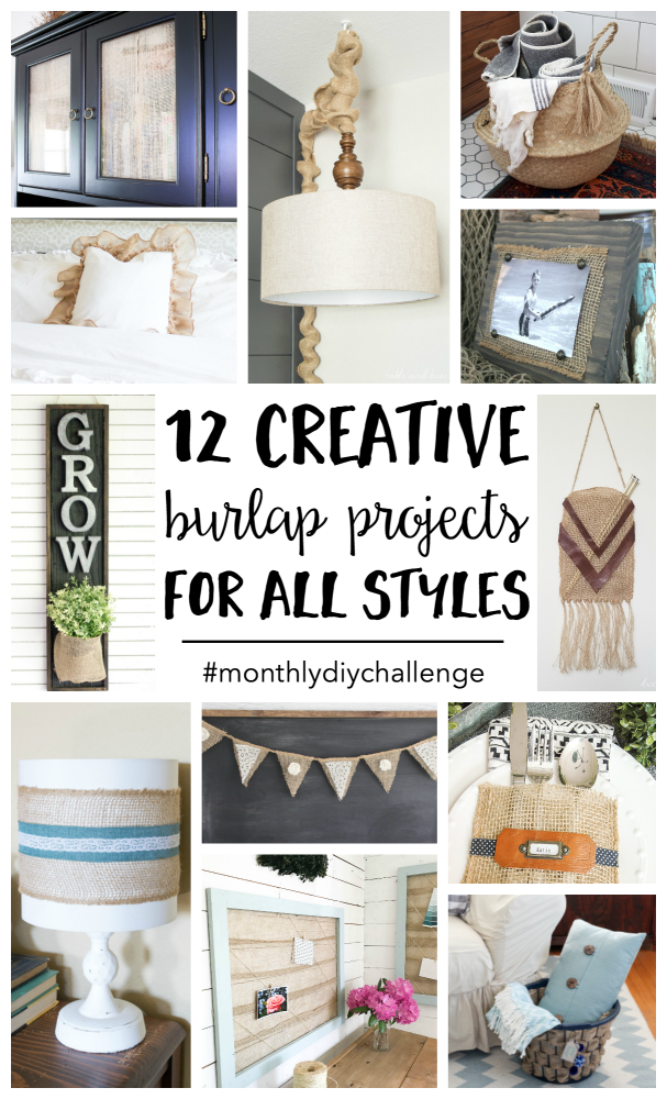 12 burlap projects