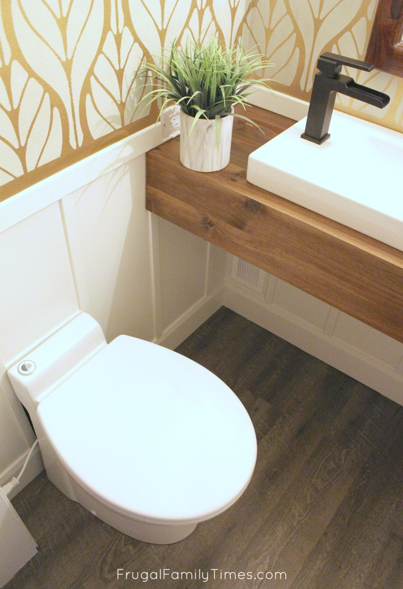 DIY: How we made a Bathroom in our Basement Without Breaking