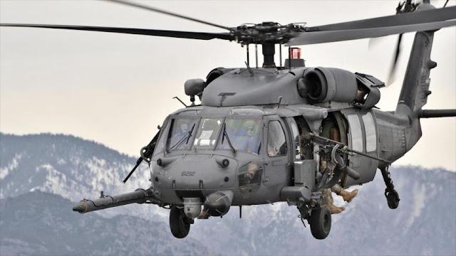 """""""Helicópteros de EEUU llevan a terroristas de Daesh a Afganistán"""""""