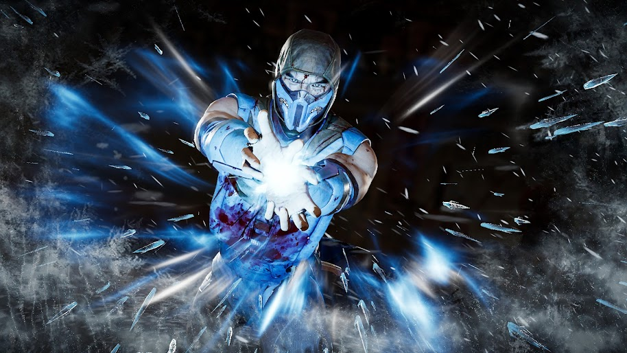 Sub Zero Mortal Kombat 11 4k Wallpaper 195
