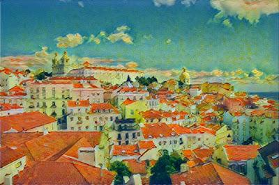 Lisboa - Miradouro das Portas do Sol_Color