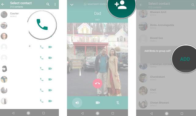 Cara Menggunakan Fitur Panggilan Grup WhatsApp untuk Video Call dan Suara,Ini Caranya 3