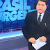 José Luiz Datena chora ao vivo ao noticiar morte de Ricardo Boechat; Veja Vdeo