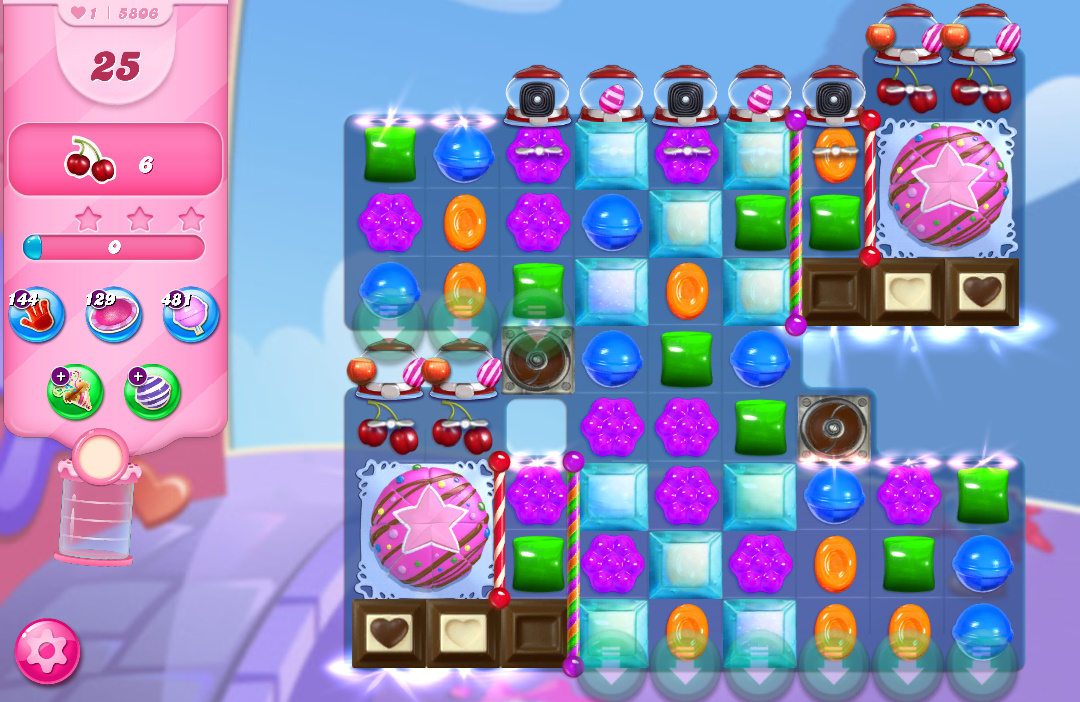 Candy Crush Saga level 5806