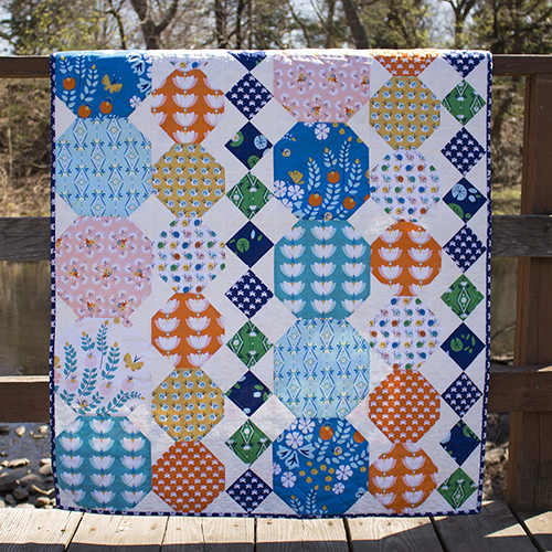 Ebbing Quilt free Pattern