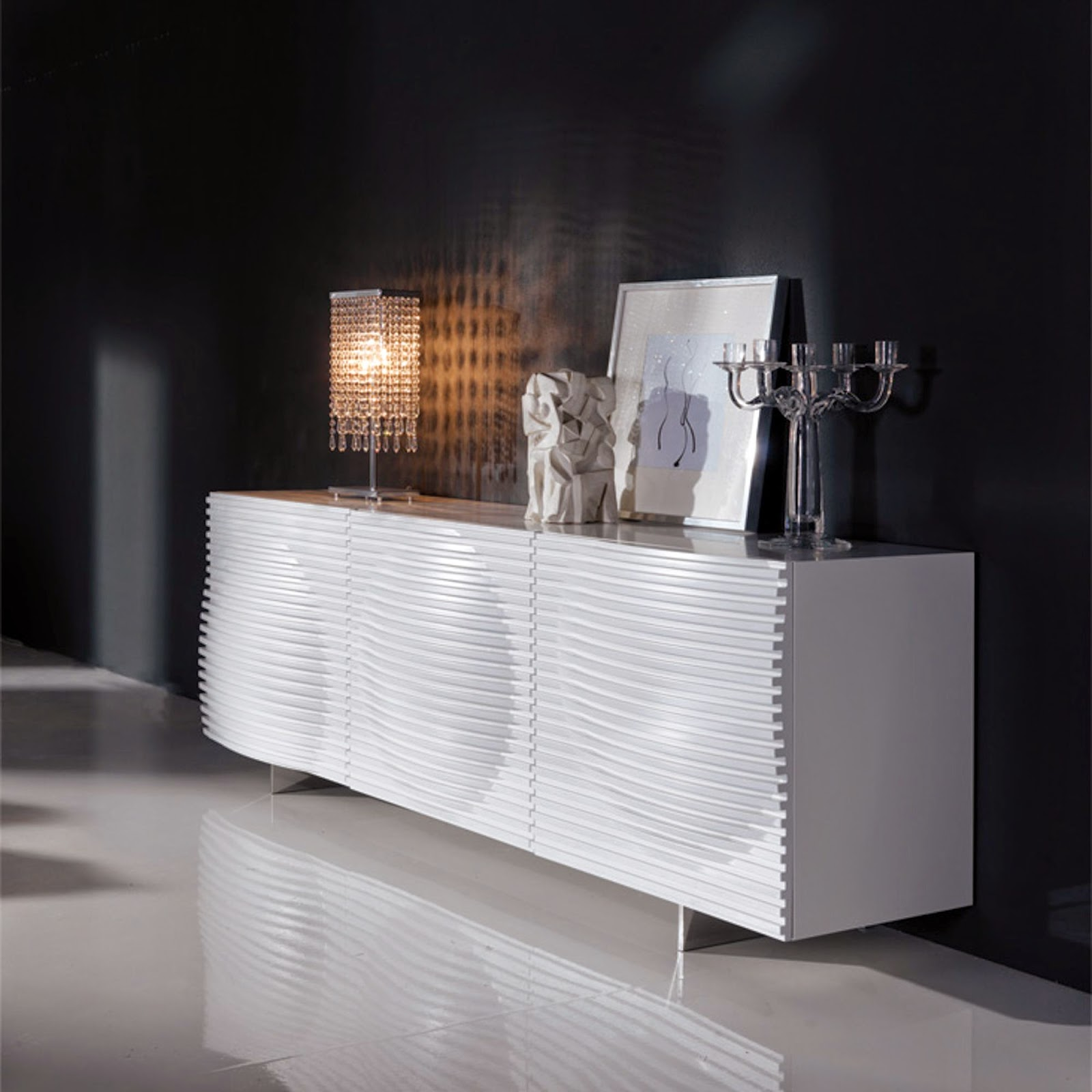 sideboard luna cattelan italia italian furniture. Black Bedroom Furniture Sets. Home Design Ideas