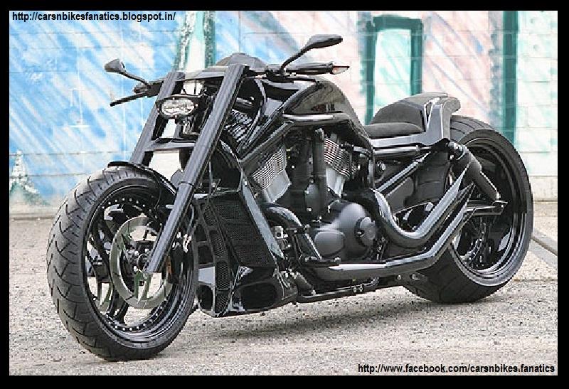 car bike fanatics custom harley davidson v rod muscle bike. Black Bedroom Furniture Sets. Home Design Ideas