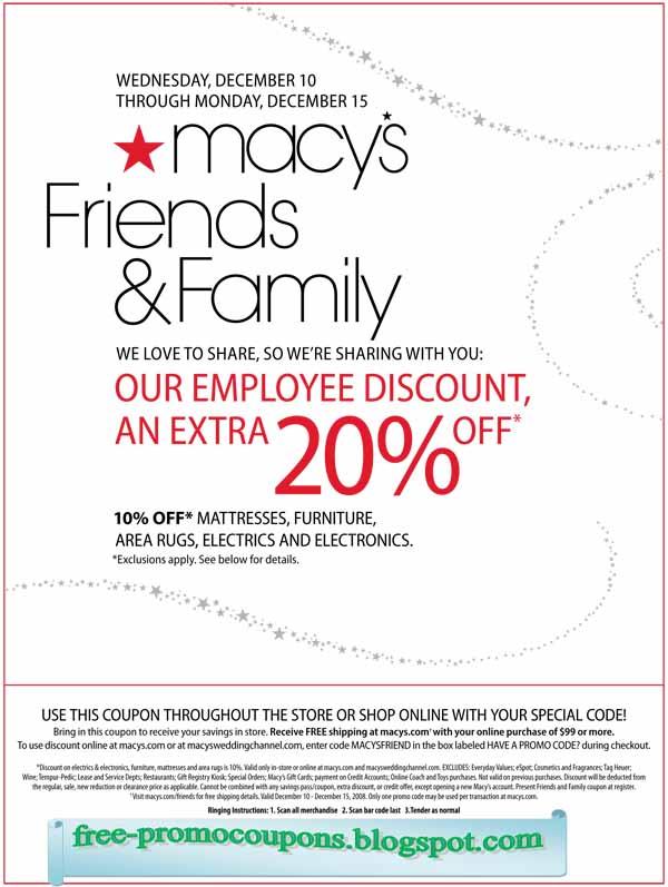 Macys.com coupon code