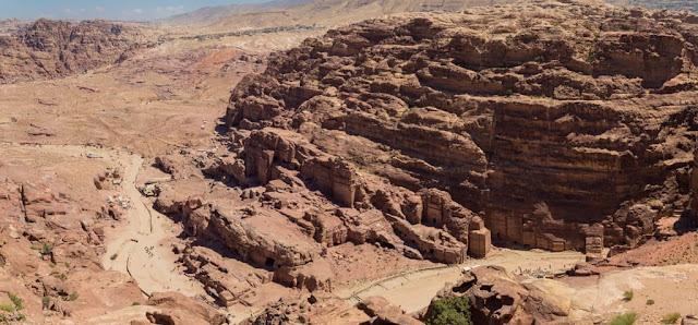 Panoramica desde el Altar de los Sacrificios