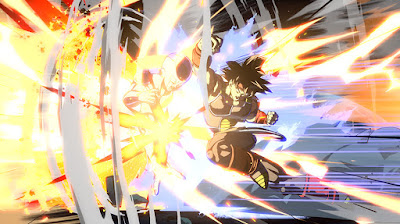 "Bardock y Broly en ""Dragon Ball FighterZ""."