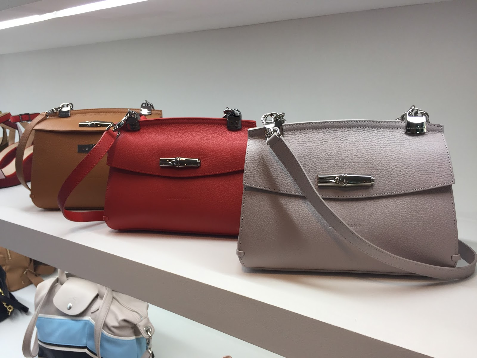 Longchamp SS18 Madeleine Bags