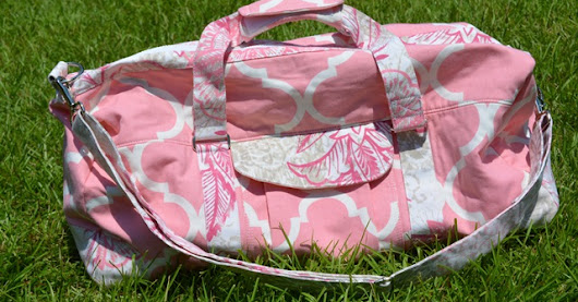Just give me a needle!: Gym Bag - Craftsy Class