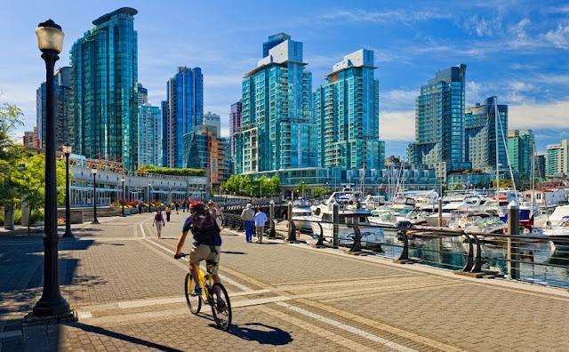 Pontos turísticos em Vancouver