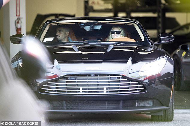 Sofia Richie goes shopping in LA with her $250k modified Aston Martin