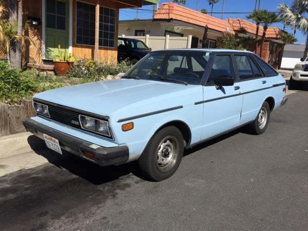 1981 Datsun 510 Hatchback