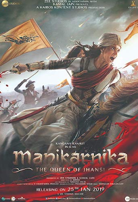 Manikarnika The Queen of Jhansi 2019 Hindi 480p WEB-DL 400MB