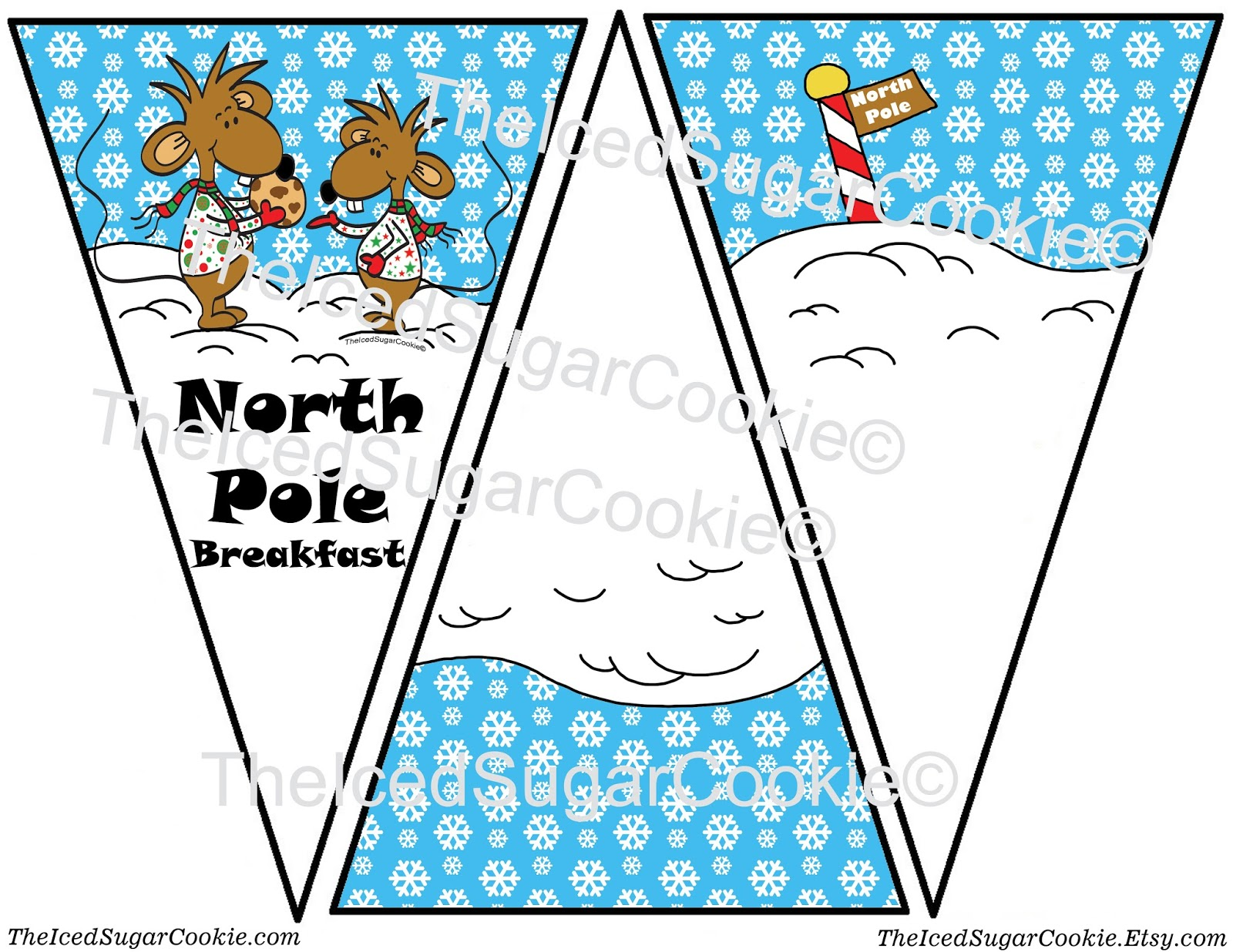 christmas banner coloring pages - photo#32