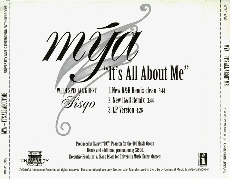 Promo, Import, Retail CD Singles & Albums: Mya - It's All About Me