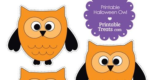 My Owl Barn Free Printable Halloween Owl