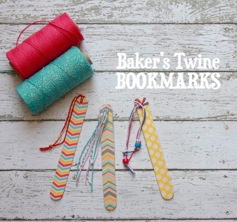 Baker's Twine Bookmarks | iloveitallwithmonikawright.com
