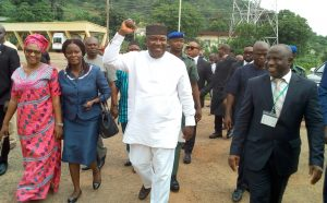 Gov. Ugwuanyi promises upward review of corps members allowance