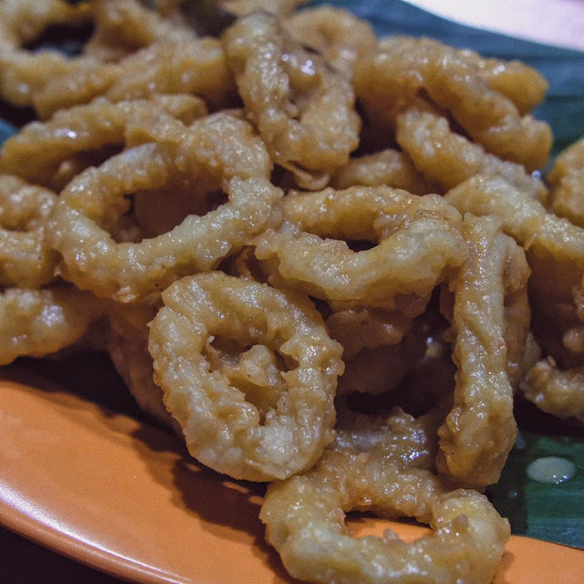 Salted Egg Squid