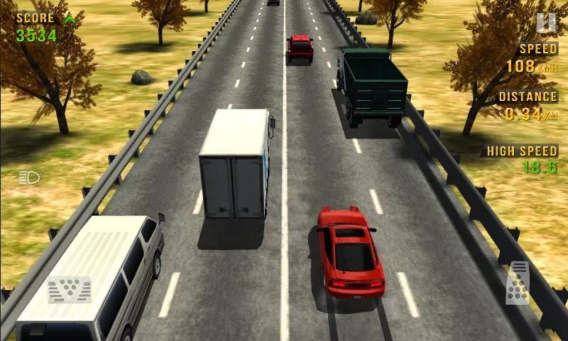 تحميل لعبة السيارات ترافيك ريسيرTraffic Racer للاندرويد برابط مباشر لوجو صور